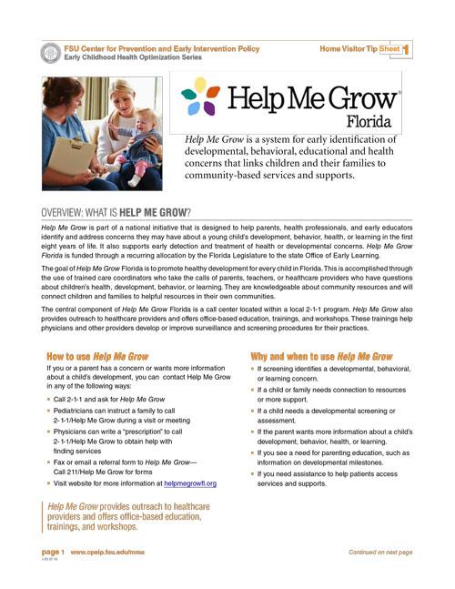 ECHO Home Visitor Tip 1 - Help Me Grow Florida.pdf